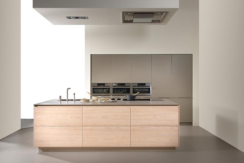 Muebles de cocina islas excellent granito blanco para for Muebles de cocina con isla central